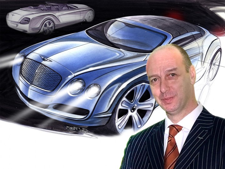 Bentley design director Dirk van Braeckel awarded