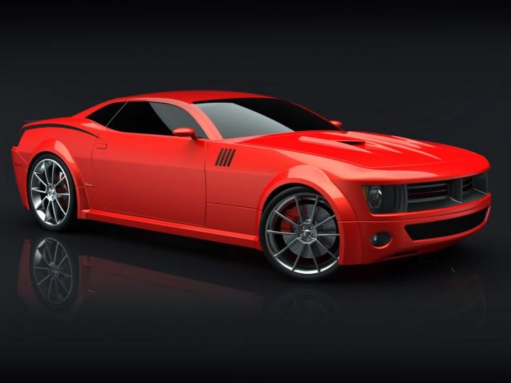 Barracuda Concept Car Body Design