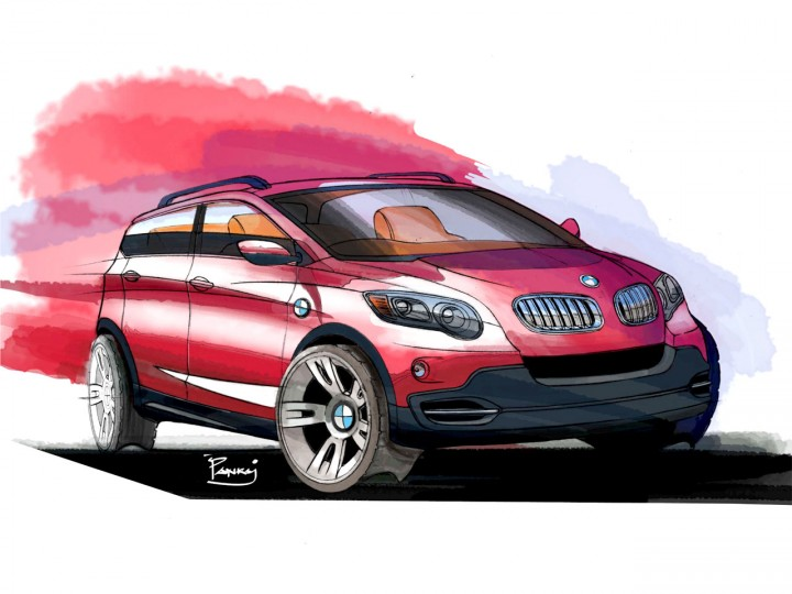 Quick Car Rendering In Photoshop Car Body Design