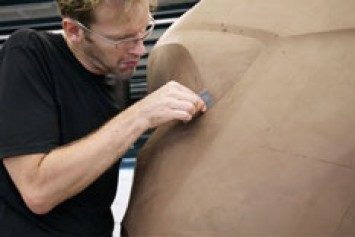 BMW X1 Concept Clay Model