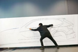 BMW X1 Concept Tape Drawing