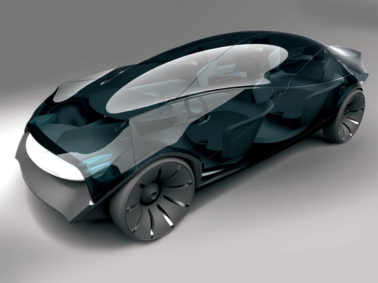 Free Form Concept Car Body Design