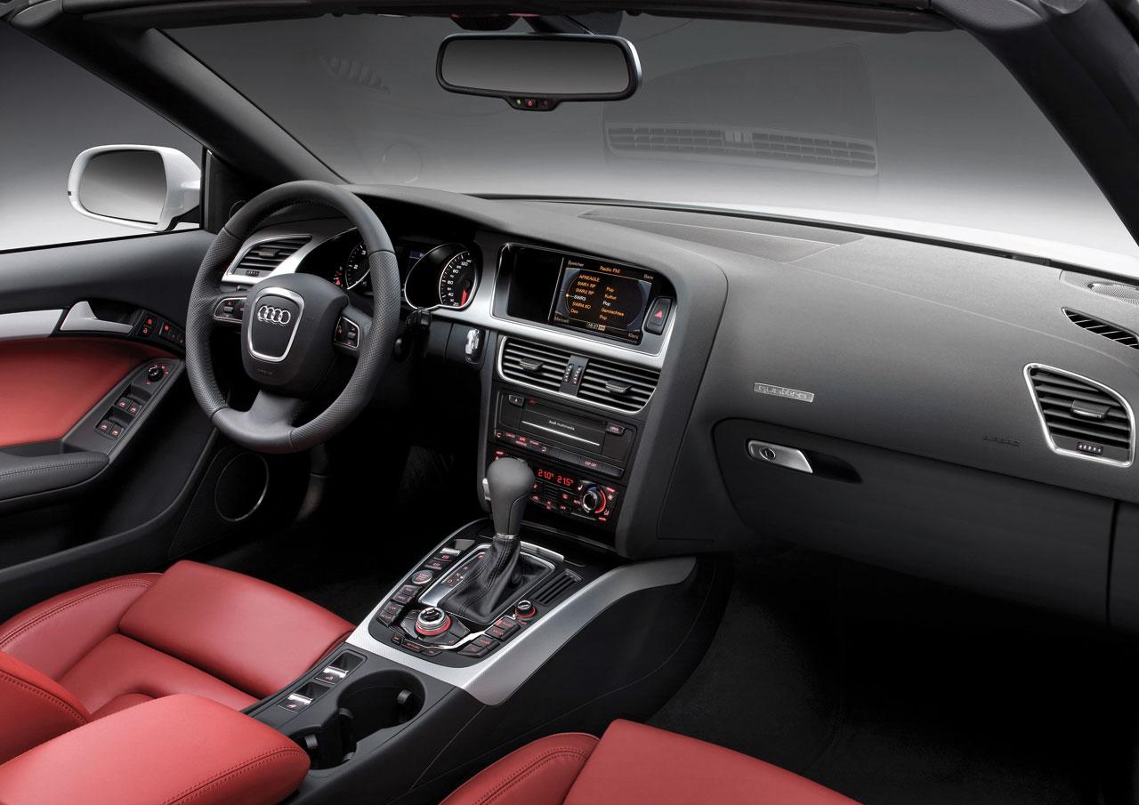 Audi A5 Cabriolet Interior Car Body Design