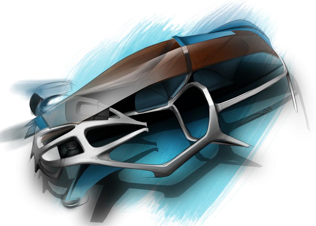 Bmw Layeron Design Sketch Car Body Design
