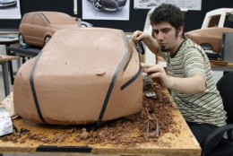 VW Coupe Concept Clay Modeling Process