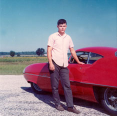 Gary Kaberle And His Bertone BAT 9