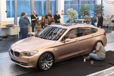 BMW Concept 5 Series GT Clay Model