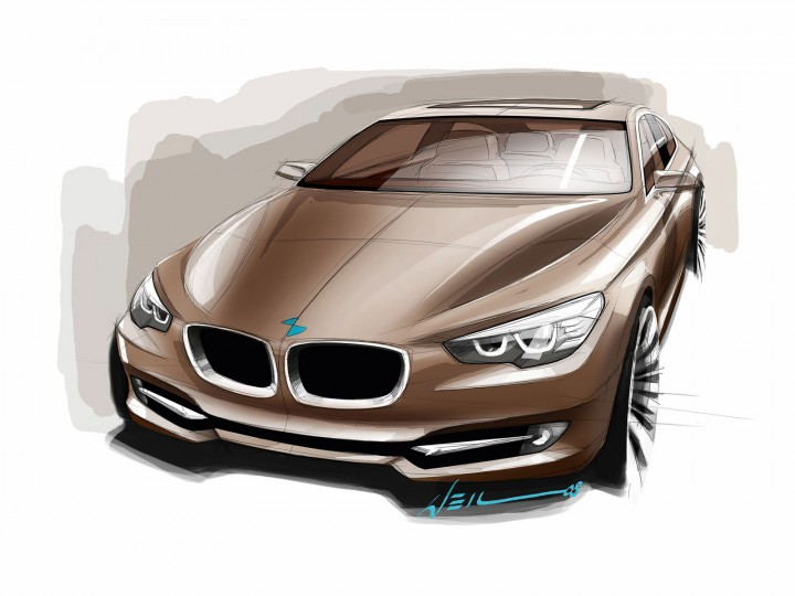 BMW Concept 5 Series Gran Turismo: design images