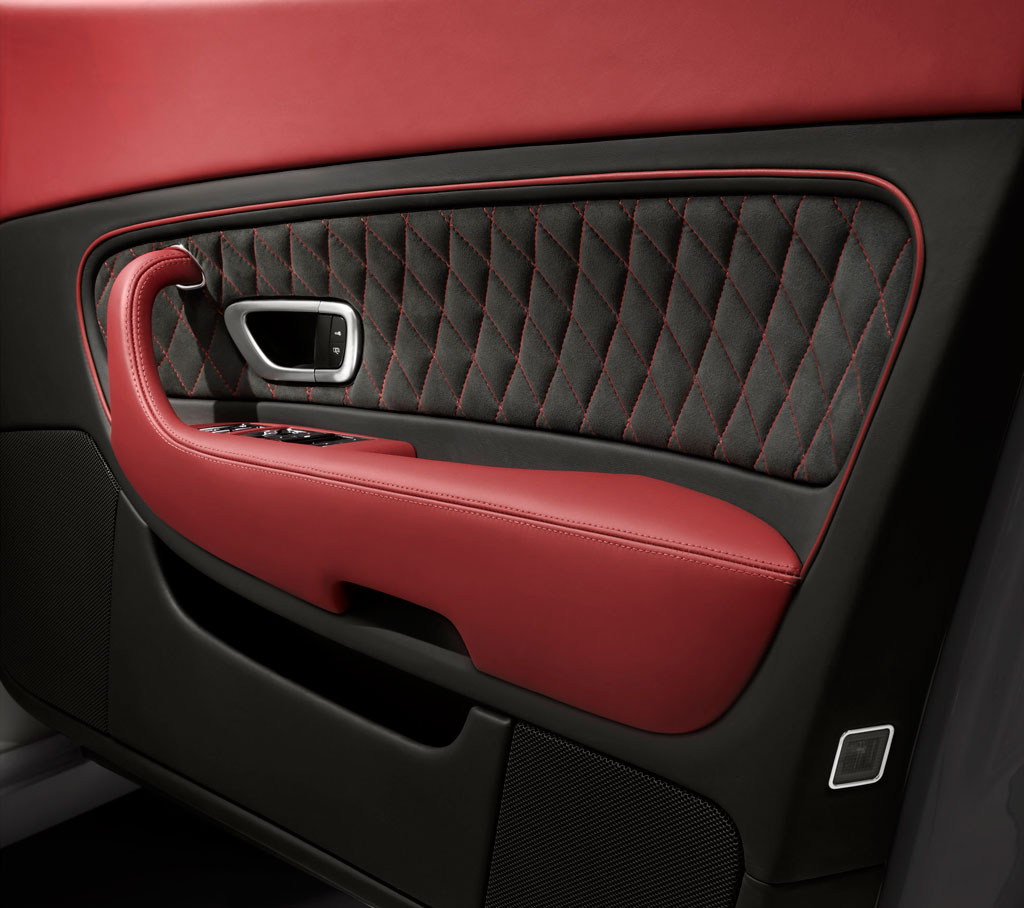 Bentley Continental Supersports Interior Door Panel Car Body Design