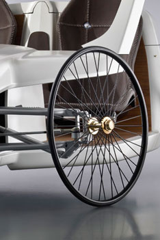 Mercedes Benz F Cell Roadster Concept - Wheel