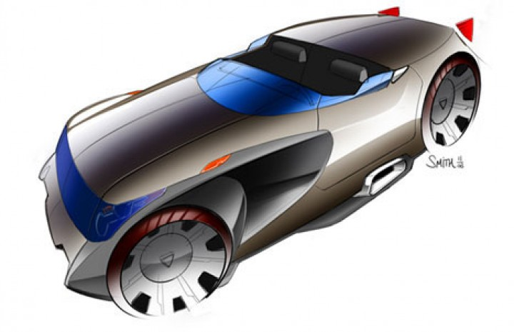 Autodesk Sketchbook Pro 2010 Car Body Design