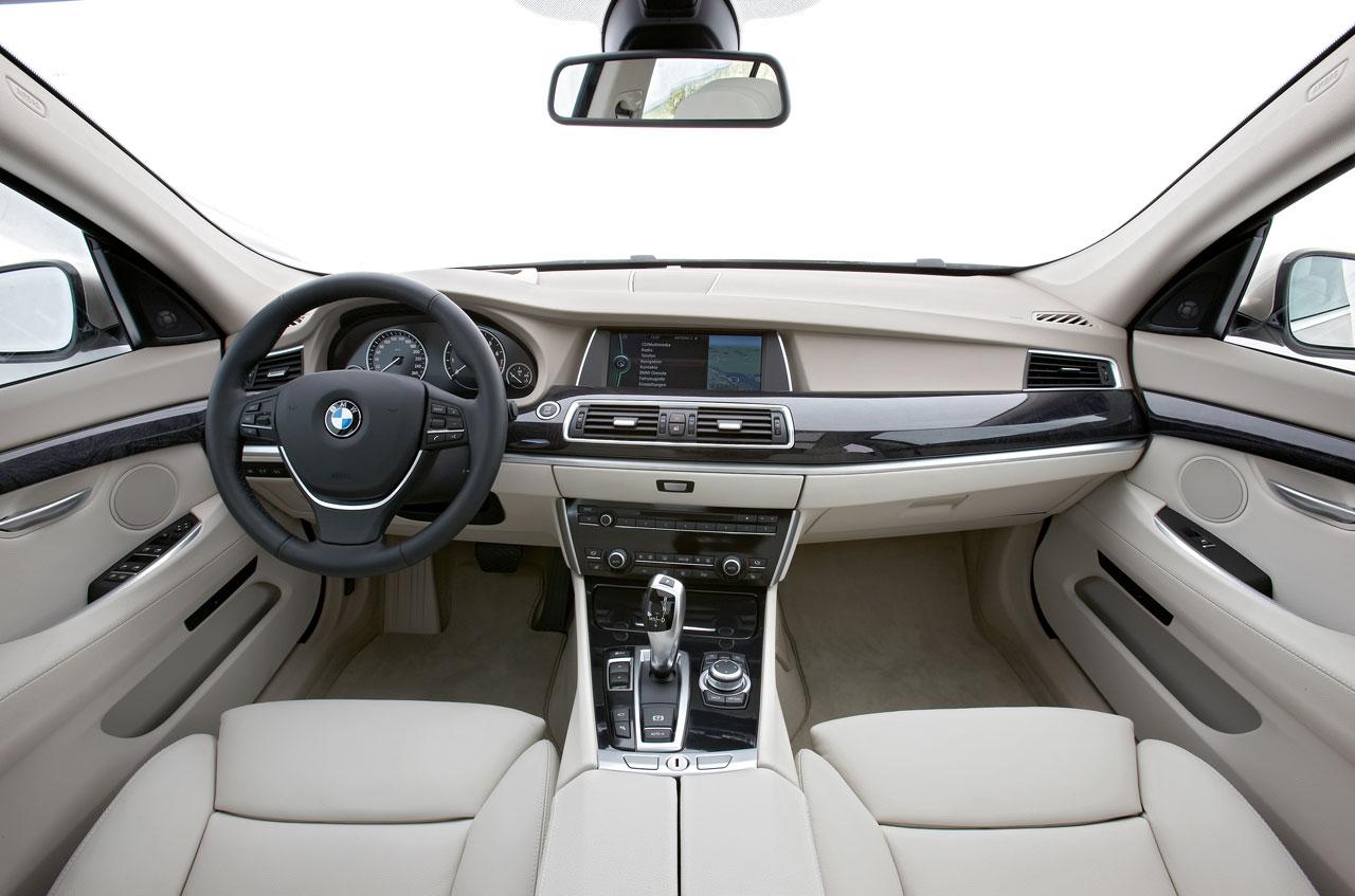 Bmw 5 Series Gt Interior Car Body Design