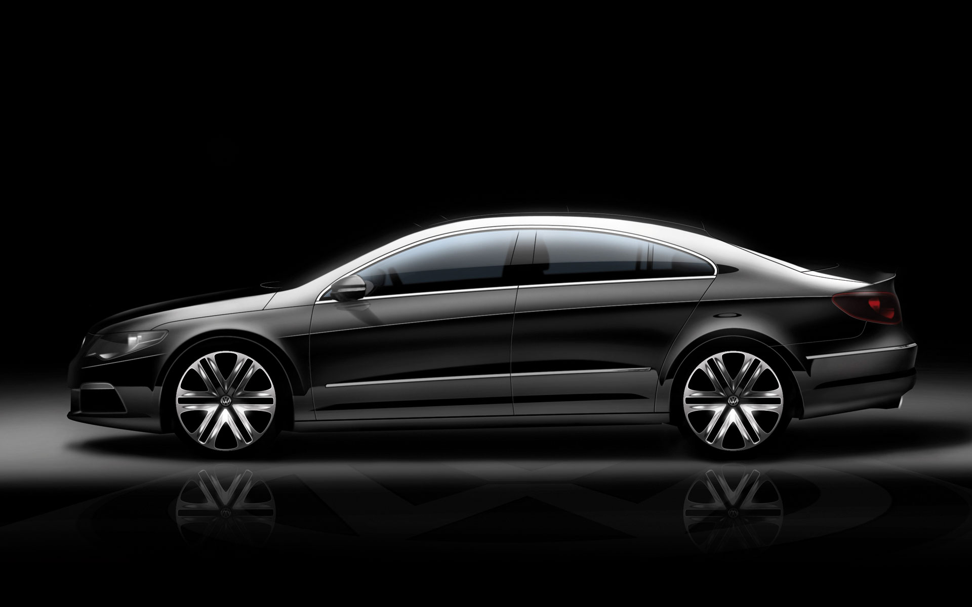 Vw Passat Cc Design Sketch Car Body Design