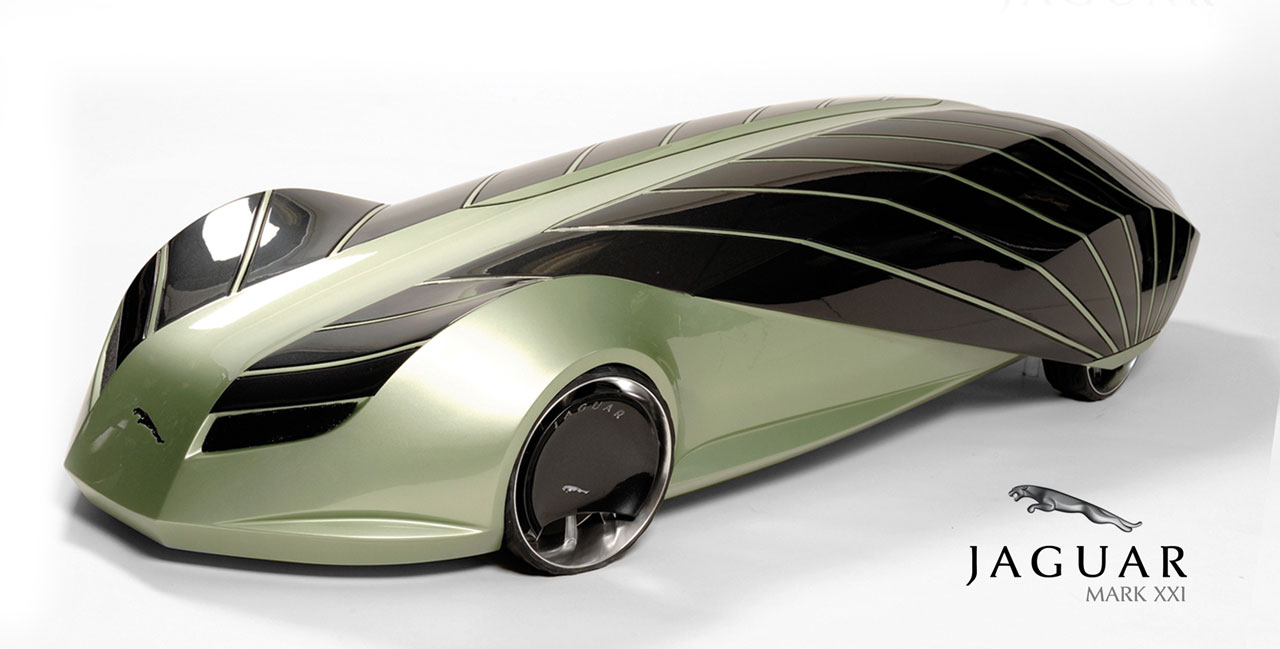 Jaguar Mark Xxi Concept Model Car Body Design