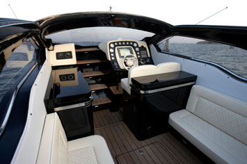 Lancia Powerboat Interior