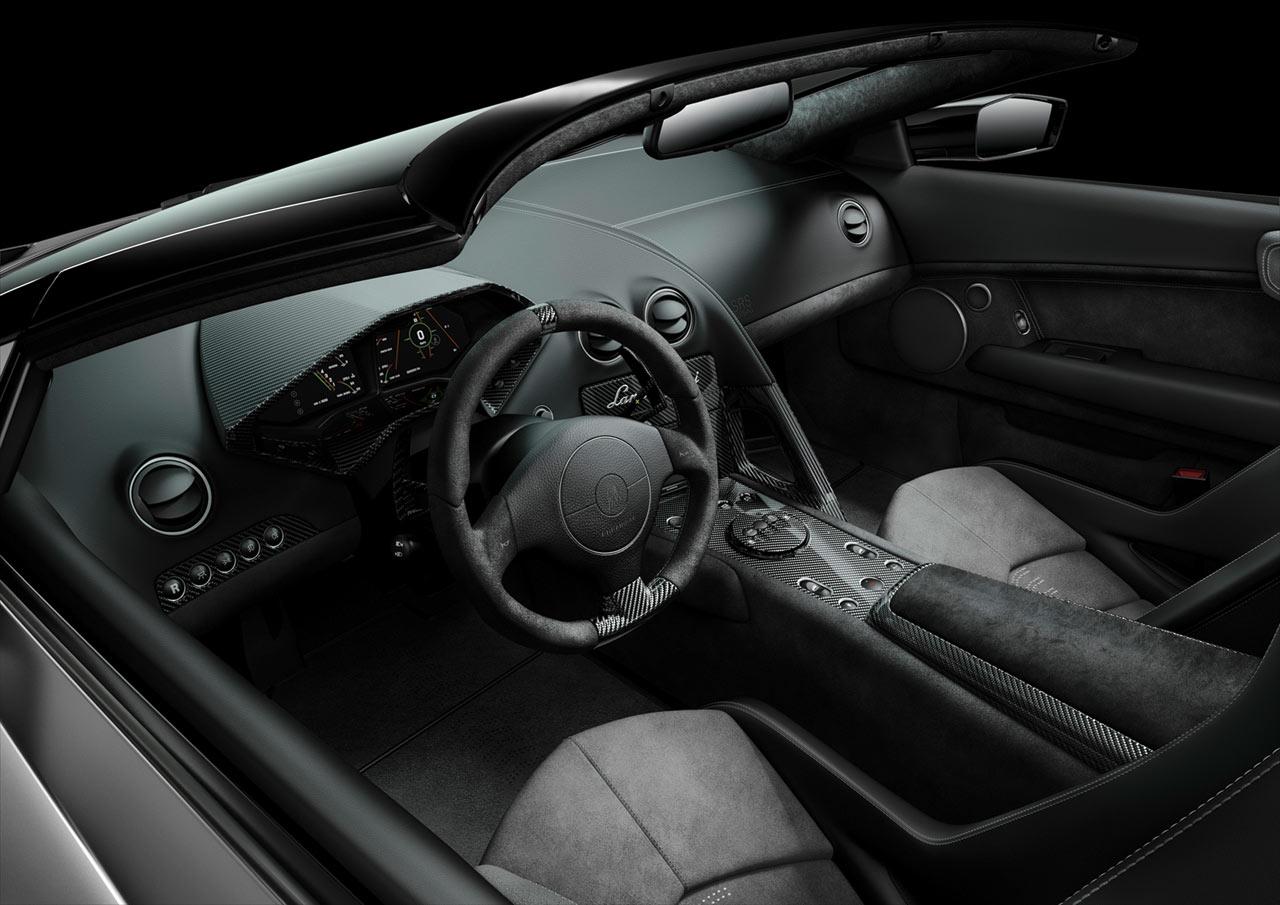 Lamborghini Reventon Roadster Interior Car Body Design