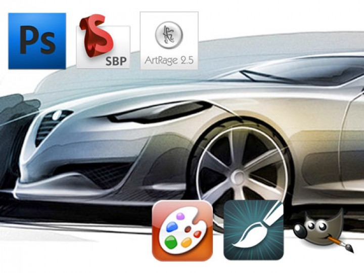 Software Round Up 16 Digital Painting Applications Car Body Design