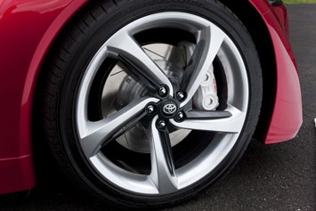 Toyota FT 86 Concept Wheel