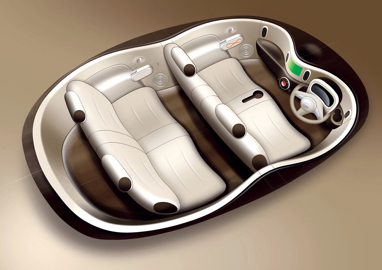 Nissan Cube Interior Design Sketch - Car Body Design