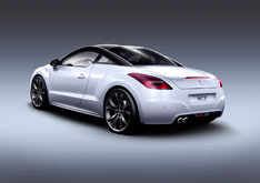 Peugeot Rcz Car Body Design