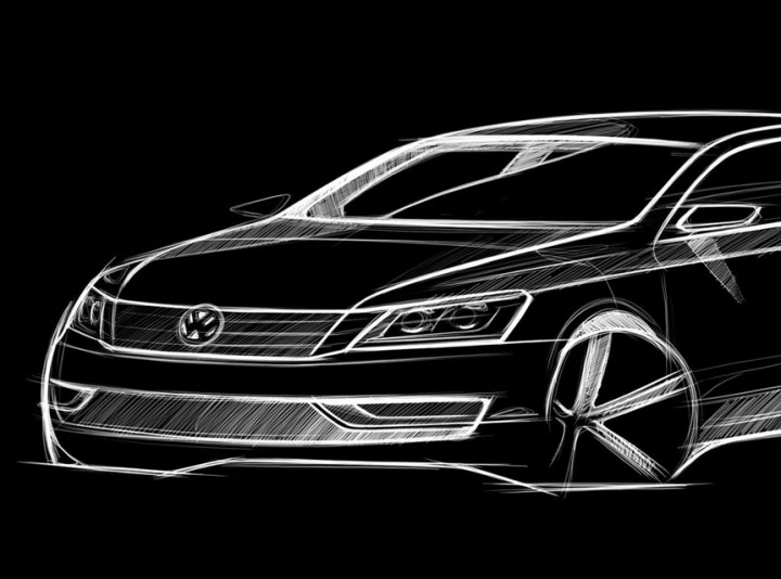 Volkswagen NMS: preview sketches