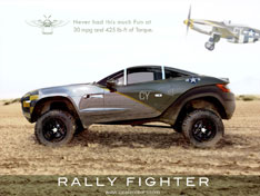 Rally Fighter Rendering