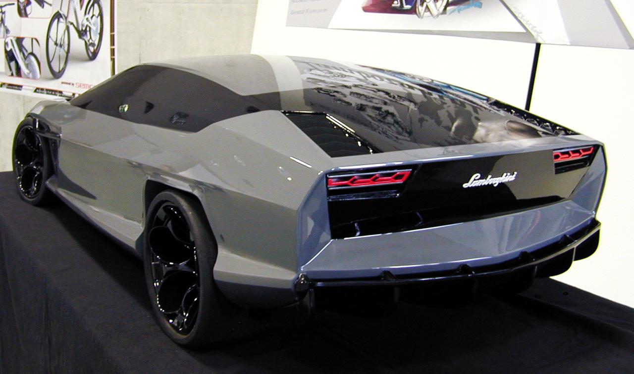 Lamborghini New Espada By Fabian Weinert Car Body Design