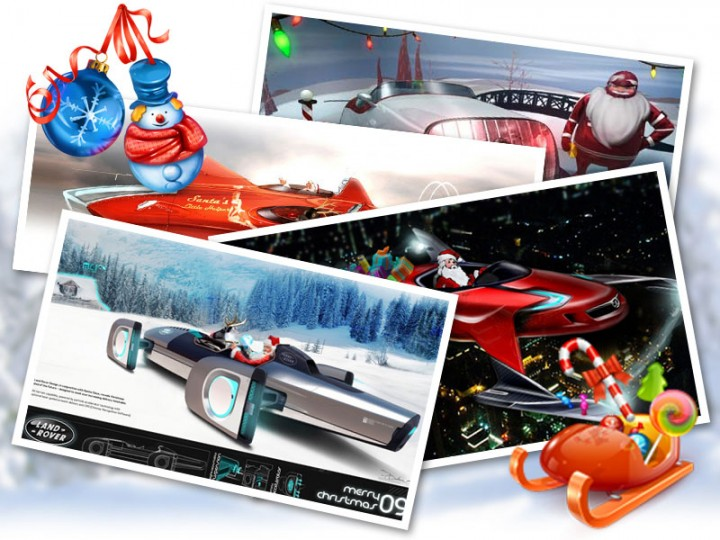 Merry Christmas! And a new sleigh for Santa…
