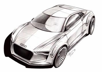 Audi E Tron Detroit Concept Design Images Car Body Design