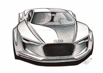 Audi E Tron Detroit Concept Design Images Page 5 Car Body Design