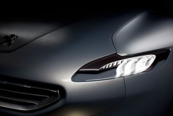 Peugeot SR1 Concept Headlight