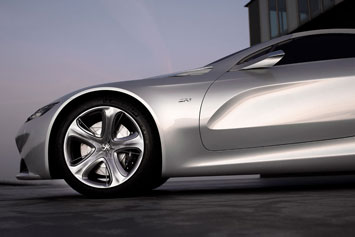 Peugeot SR1 Concept Side Detail