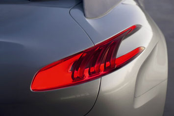 Peugeot SR1 Concept Tail Light