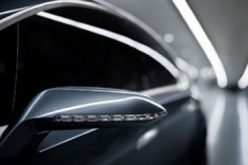 5 by Peugeot Concept Side View Mirror