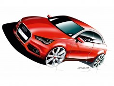 Audi A1: new design images and videos