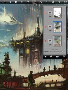 Autodesk Sketchbook Pro for iPad - Car Body Design
