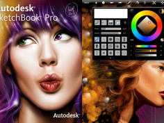 Autodesk Sketchbook Pro for iPad
