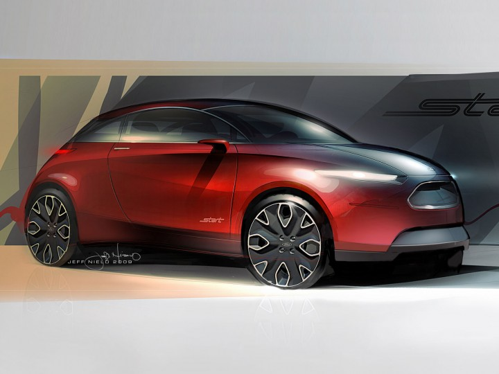 Ford Start Concept: the design