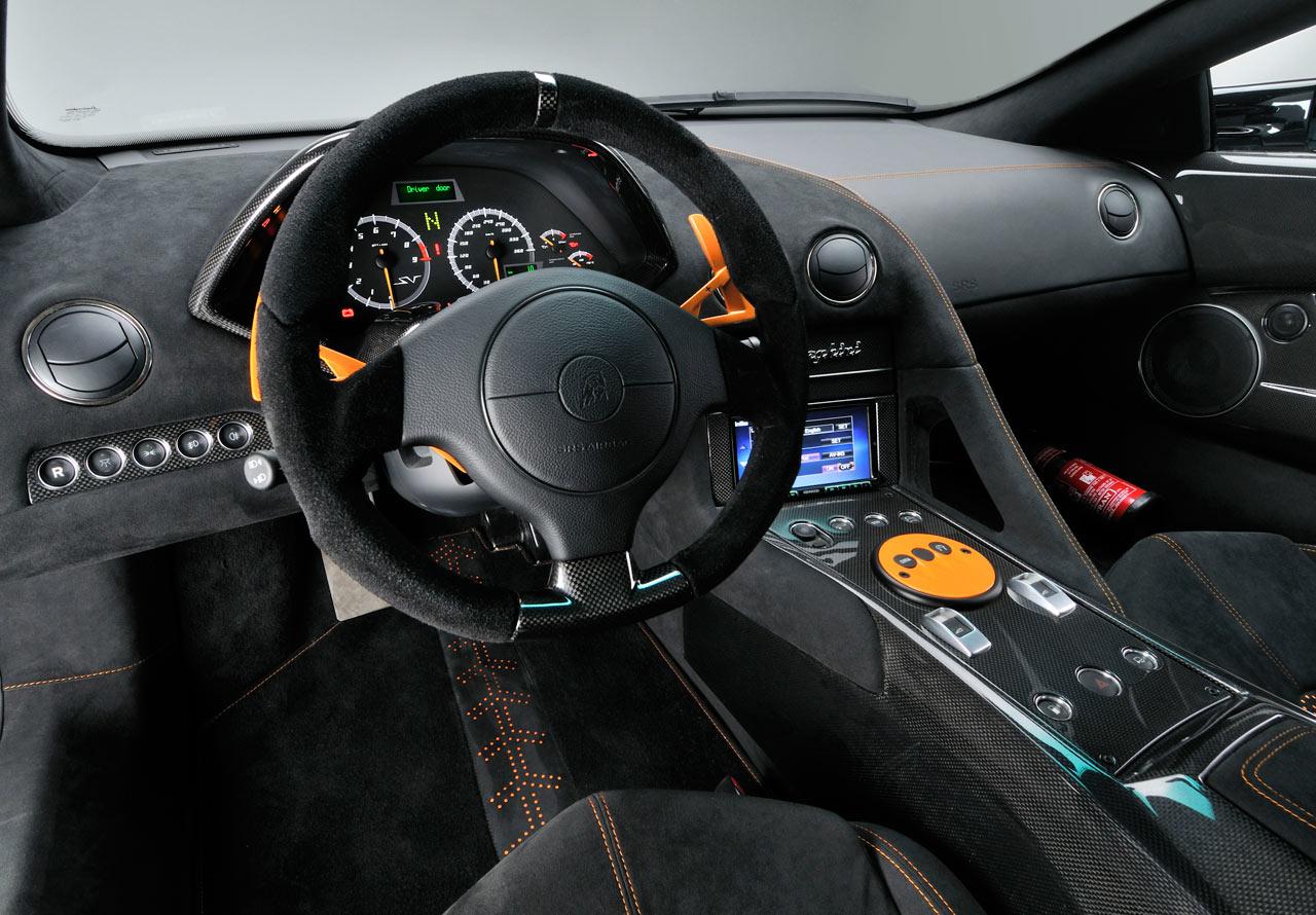 Lamborghini Murcielago China Edition Interior Car Body Design