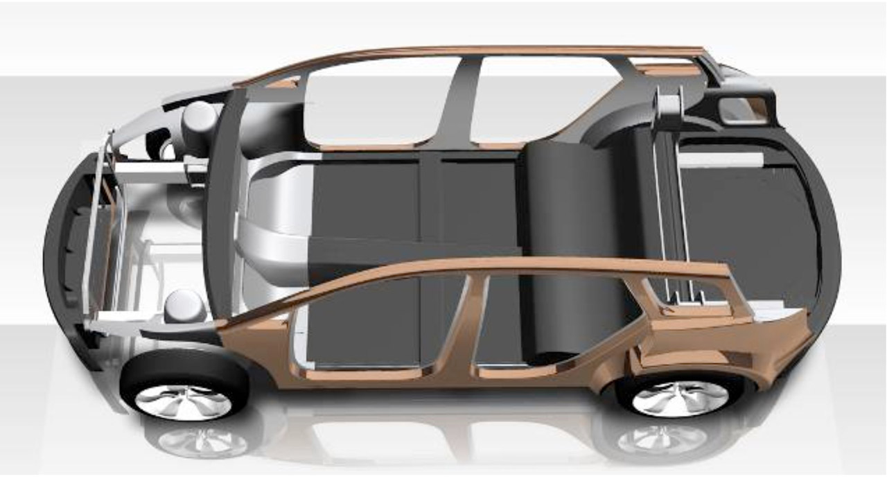 Lotus 2020 Toyota Venza Cutaway Car Body Design