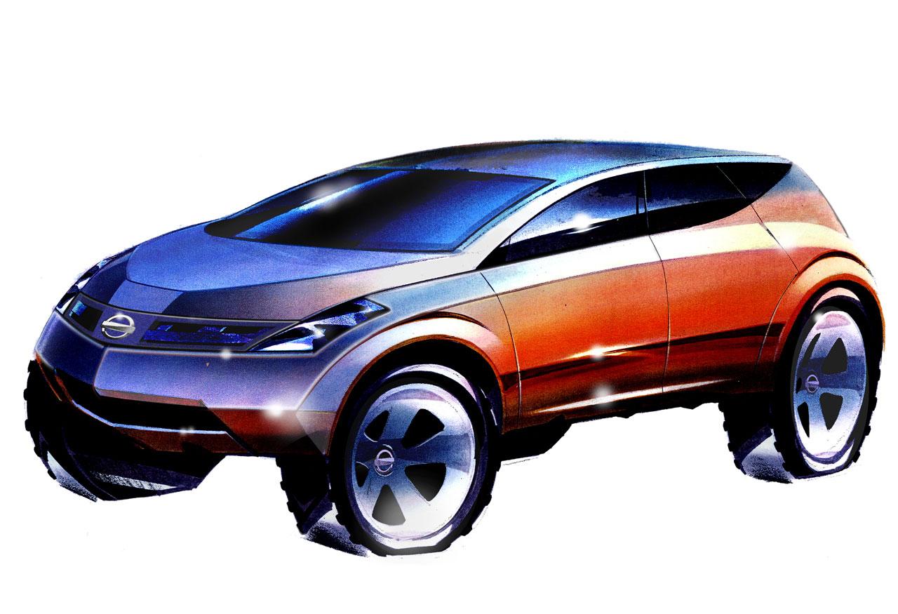 2001 Nissan Murano Concept - Car Body Design