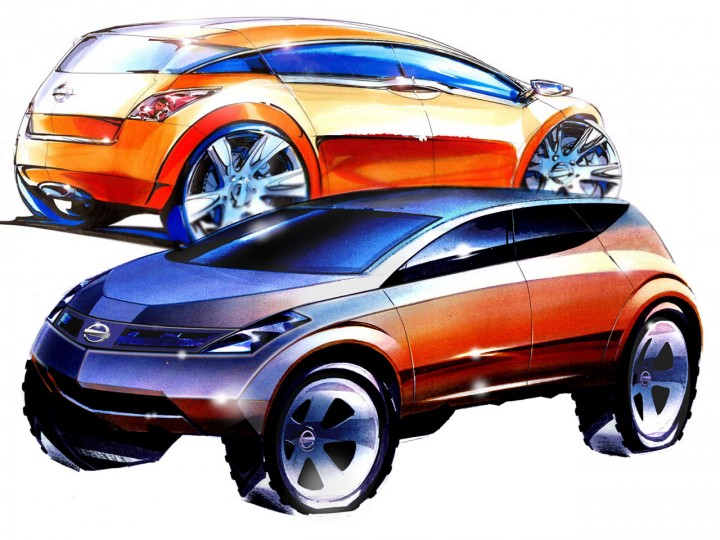 Nissan Design 50th Anniversary: a gallery of sketches