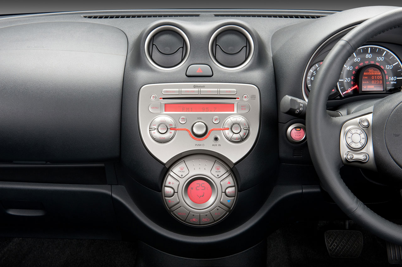 New Nissan Micra Interior Car Body Design