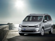 The new Volkswagen Sharan