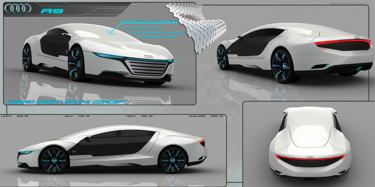2020 Audi A9 Concept Speed Test