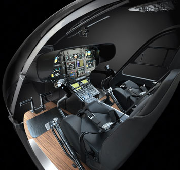 Eurocopter EC145 Interior