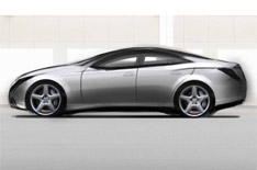 Lancia Concept Car 2005 Design Sketch