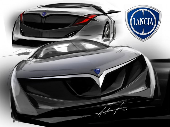 Lancia design sketches