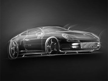 Porsche 928 Panamera Gt Preview Car Body Design
