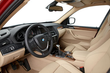 New BMW X3 Interior